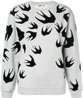 McQ Swallow print sweatshirt