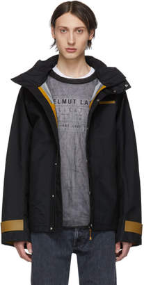 Helmut Lang Black Tech Zip-Up Jacket