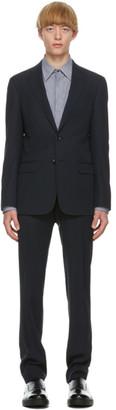 Giorgio Armani Navy Single-Breasted Suit