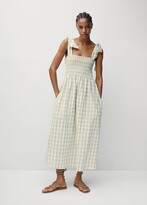 Thumbnail for your product : MANGO Vichy check dress