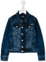 Diesel Jelox denim jacket - kids - Cotton/Polyester/Spandex/Elastane - 8 yrs