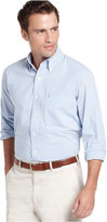Izod Men's Long Sleeve Striped Essential Shirt