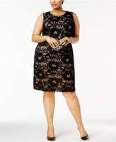 Nine West Plus Size Lace Dress