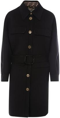 Fendi Straight-Cut Trench Coat