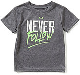 Under Armour Little Boys 2T-7 Never Follow Short-Sleeve Tee
