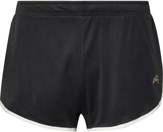 Tracksmith Twilight Split Contrast-Tipped Mesh Shorts