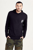 True Religion Double Layer Pullover Mens Hoodie