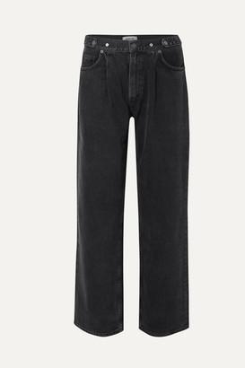 AGOLDE Mid-rise Boyfriend Jeans - Black