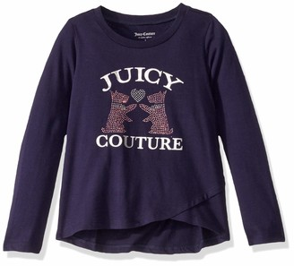 Juicy Couture Girls' Fashion Tee Tunic Shirt