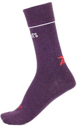 Vetements x Reebok metallic socks