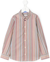 Paul Smith striped poplin shirt - kids - Cotton - 4 yrs
