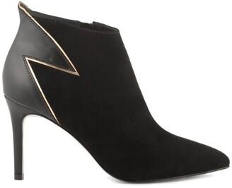 Cosmo Paris Cosmoparis Jelia/Bivel High-Heeled Leather Boots