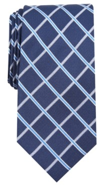 Club Room Men's Grid Tie, Created for Macy's