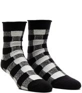 Plush Thin Rolled Fleece Sock