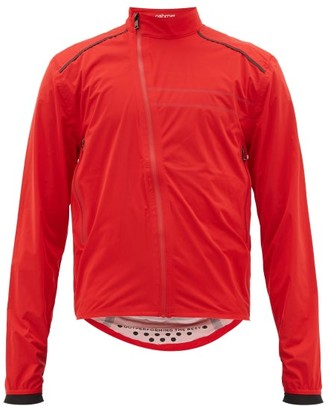 Ashmei - Reflective Dot-striped High-neck Technical Jacket - Mens - Red