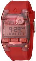 Nixon Men's A336191 Comp S Digital Display Automatic Self Wind Red Watch
