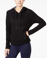 Calvin Klein Cropped Fleece Hoodie