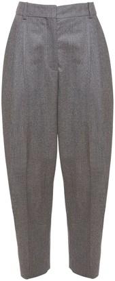 Stella McCartney High Waist Wool Flannel Pants