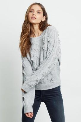 Rails Light Heather Grey Francis Sweater - XS | grey - Grey/Grey