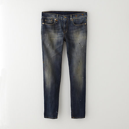 R 13 relaxed skinny jean