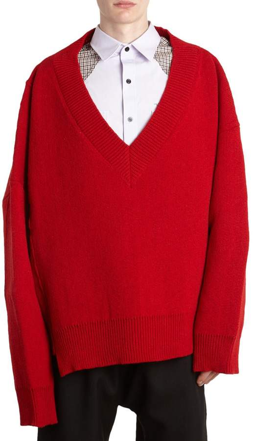 Raf Simons Oversized Wool Sweater