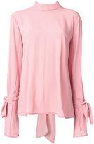 Marni crepe blouse - women - Silk/Acetate - 40