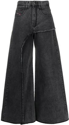 Diesel D-Izzier wide leg jeans