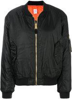 Yang Li printed back bomber jacket