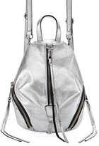 Rebecca Minkoff Julian Convertible Metallic Mini Backpack