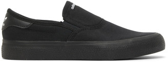 adidas Black 3MC Slip-On Sneakers