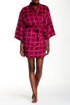 Josie Plaid Plush Robe