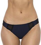 Nautica Women's Net Effect Strap Bikini Bottom