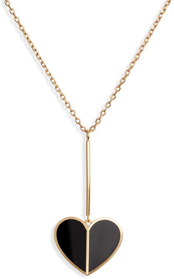 Kate Spade Linear Pendant Necklace