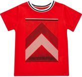 River Island Mini boys red print t-shirt