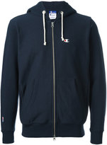 Champion x Beams zipped hoody - men - Cotton/Polyester - XL
