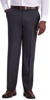 Haggar Men's J.M. Premium 4-Way Stretch Classic-Fit Flat-Front Suit Pants