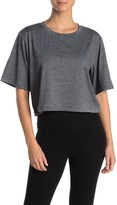Zella Z By Jennifer Elbow Sleeve Crop T-Shirt