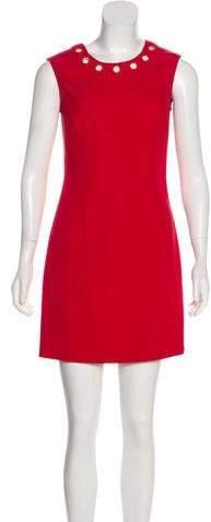 Versace Crepe Sheath Dress