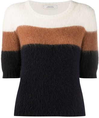 Dorothee Schumacher Color-Block Short-Sleeve Jumper