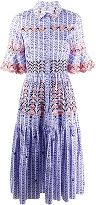 Temperley London Poet midi dress