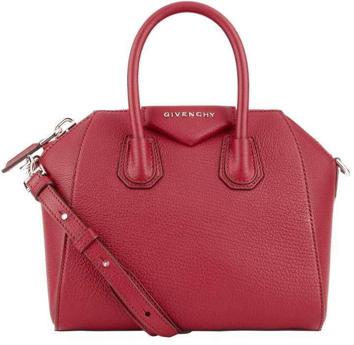 Givenchy Mini Leather Antigona Tote Bag