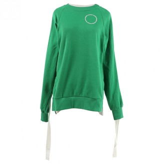 Monse Green Cotton Knitwear for Women