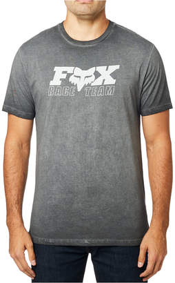 Fox Men Race Team logo graphic T-shirt