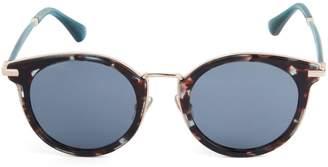 Jimmy Choo Raffy, 22MM, Gradient Round Sunglasses