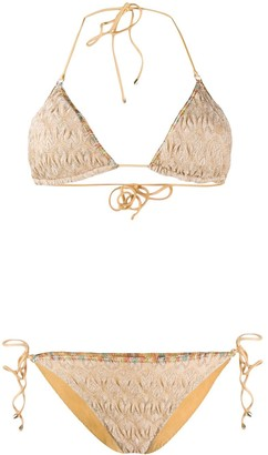 Missoni Mare Textured Knit Bikini