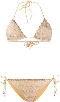 Missoni Mare Textured Knit Bikini