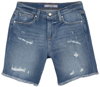 Joe's Jeans Distressed Bermuda Shorts