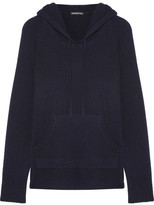 James Perse Cashmere Hooded Top - Navy