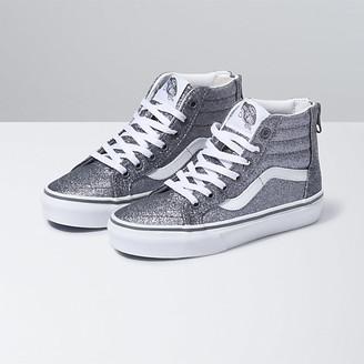 Vans Kids Glitter Sk8-Hi Zip