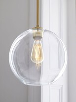 Thumbnail for your product : west elm Sculptural Glass Globe Ceiling Light, Clear